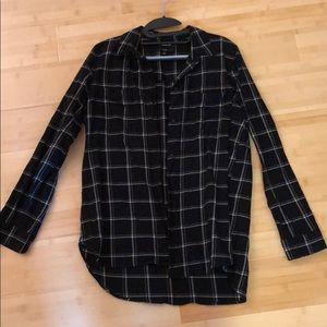 Madewell flannel shirt Sz M